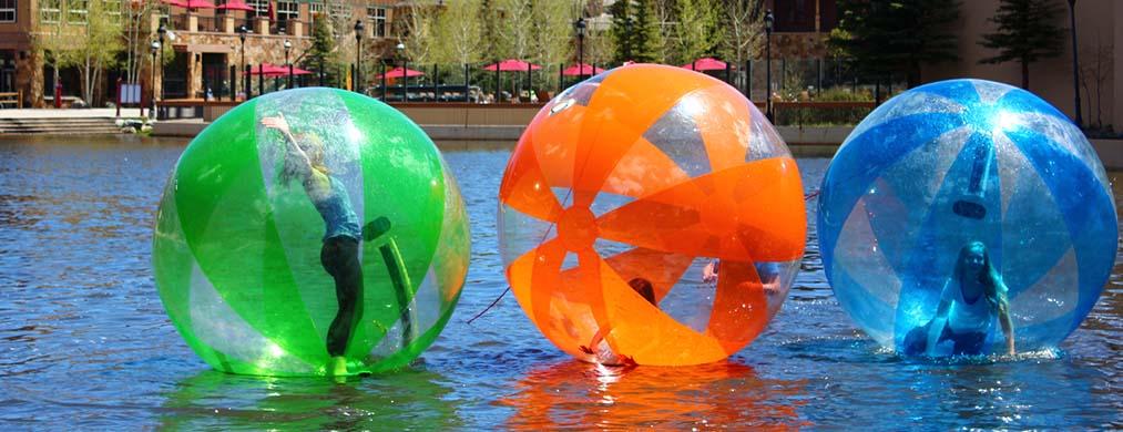 esferas acuáticas nunca pasaran de moda