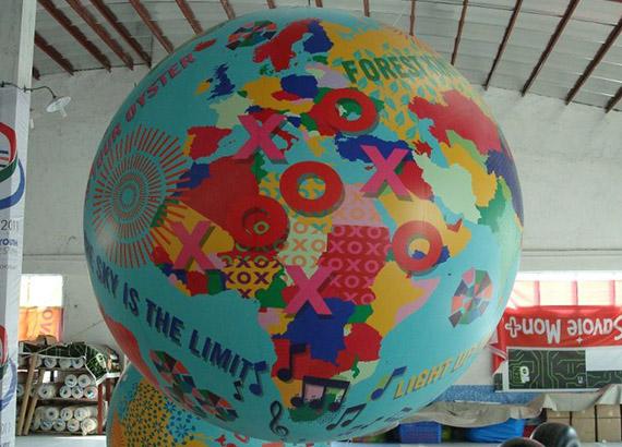 globo de Helio Publicitario