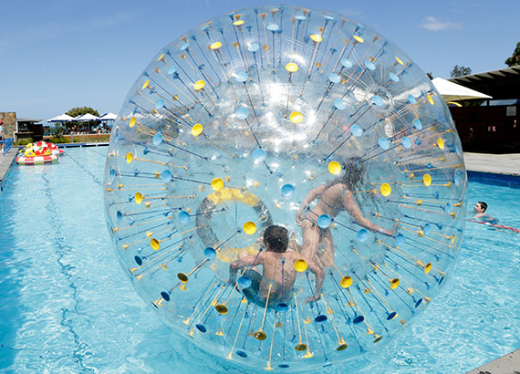 zorb ball hydro aquaorb