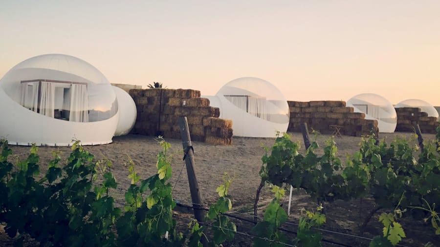 Zorb House, bubble hotel, hotel burbuja en Mexico